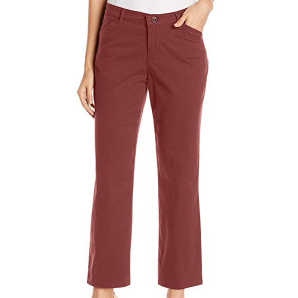 LEE Women/'s Relaxed Fit All Day Straight Leg Pant Choose SZ//Color